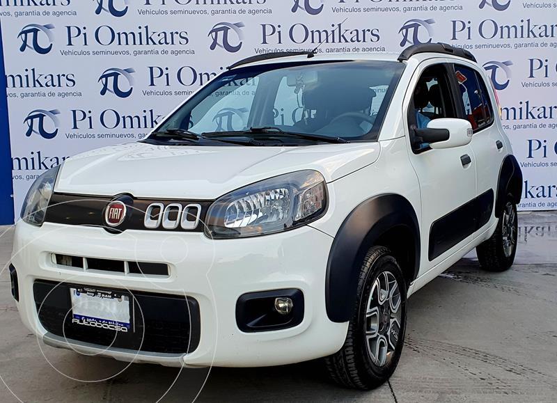 Fiat Uno Way usado (2016) color Blanco precio $165,000
