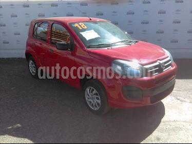 Fiat Uno ATTRACTIVE MANUAL usado (2018) color Rojo precio $158,000