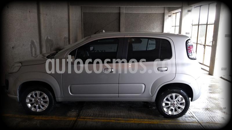 Fiat Uno Like usado (2017) color Plata precio $135,000