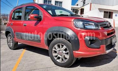 Fiat Uno Way usado (2017) color Rojo precio $160,000