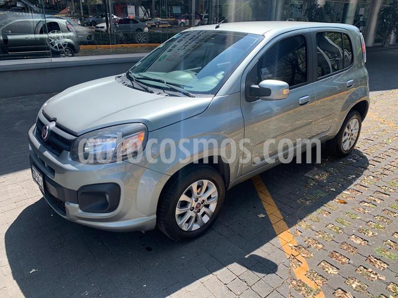 Fiat Uno Attractive usado (2018) color Granito precio $136,000