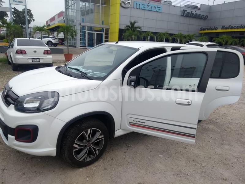 Fiat Uno Sporting usado (2019) color Blanco precio $165,000