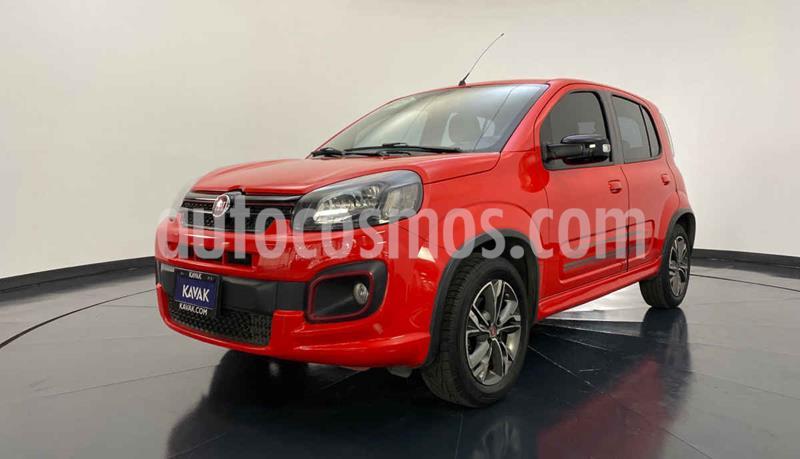 Fiat Uno Sporting usado (2018) color Rojo precio $167,999
