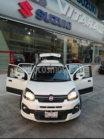 Fiat Uno Way usado (2018) color Blanco precio $155,000