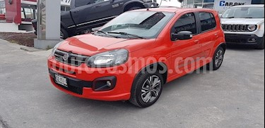 Fiat Uno Sporting usado (2018) color Rojo precio $175,000