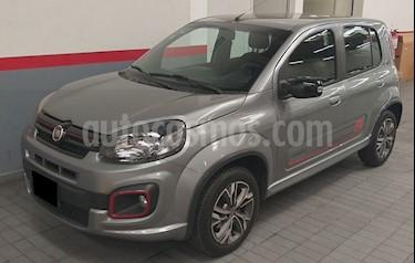 Fiat Uno Sporting usado (2017) color Negro Vulcano precio $155,000