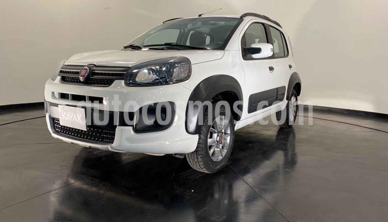 Fiat Uno Way usado (2019) color Blanco precio $192,999