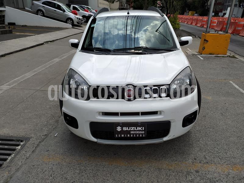 Fiat Uno Way usado (2016) color Blanco precio $122,000