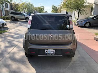 Fiat Uno Way usado (2015) color Gris Tellurium precio $120,000