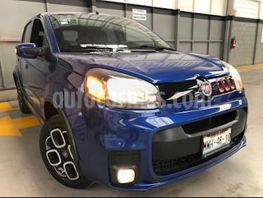 Fiat Uno 5P HB SPORTING TM5 A/AC. PANTALLA LCD VE F.NIEBLA usado (2016) color Azul precio $149,000