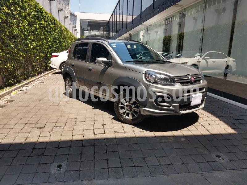 Fiat Uno Attractive usado (2018) color Gris precio $165,000