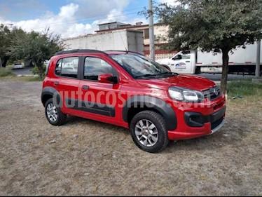 Fiat Uno Way usado (2018) color Rojo precio $154,900