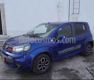 Foto venta Auto usado Fiat Uno Sporting (2016) color Azul precio $115,000