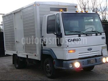 Foto venta carro usado Ford Cargo 815 furgon (2005) color Blanco precio u$s4.307
