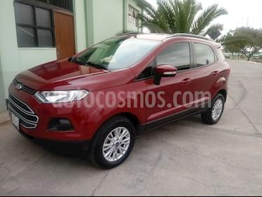 Ford Ecosport 1.6 SE usado (2017) color Rojo precio u$s16,250