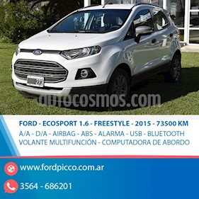 Foto venta Auto usado Ford EcoSport 1.6L Freestyle (2015) color Blanco precio $498.000