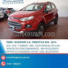 Foto venta Auto usado Ford EcoSport 2.0L 4x4 XLT  (2014) color Rojo precio $495.000