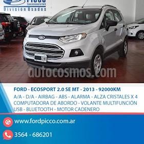 Foto Ford EcoSport 2.0L SE  usado (2013) color Gris Claro