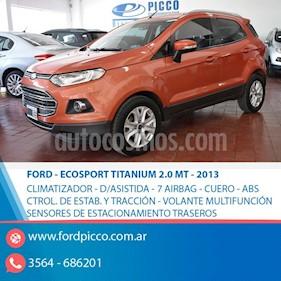 Foto Ford EcoSport 2.0L Titanium  usado (2013) color Rojo