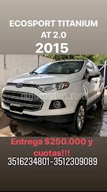 Foto venta Auto usado Ford EcoSport 2.0L Titanium  (2015) color Blanco precio $485.000