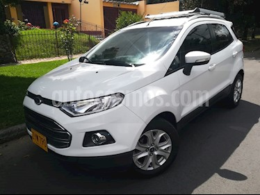 Foto venta Carro Usado Ford Ecosport 2.0L Titanium (2015) color Blanco