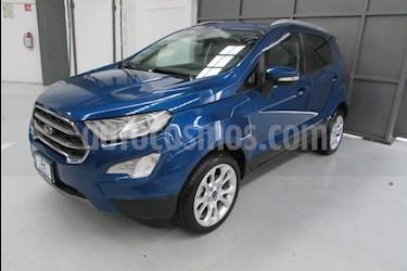 Foto venta Auto usado Ford Ecosport 5p Titanium L4/2.0 Aut (2018) color Azul precio $305,000