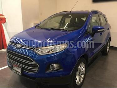 Ford Ecosport 5p Titanium L4/2.0 Aut usado (2014) color Azul precio $185,000