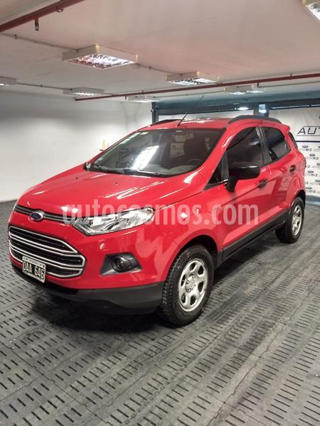Ford EcoSport 1.6L SE usado (2014) color Rojo Bari precio $885.000