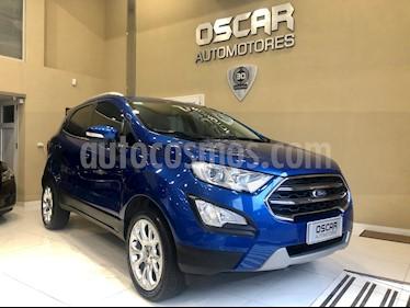Ford EcoSport Titanium 1.5L usado (2019) color Azul Electrico precio $1.249.000
