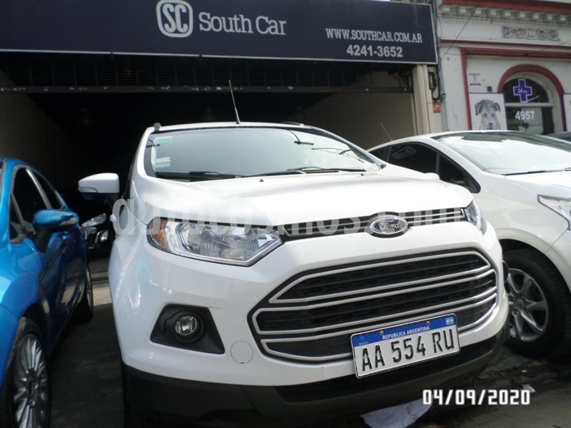 Ford EcoSport 1.6L SE usado (2016) color Blanco precio $985.000