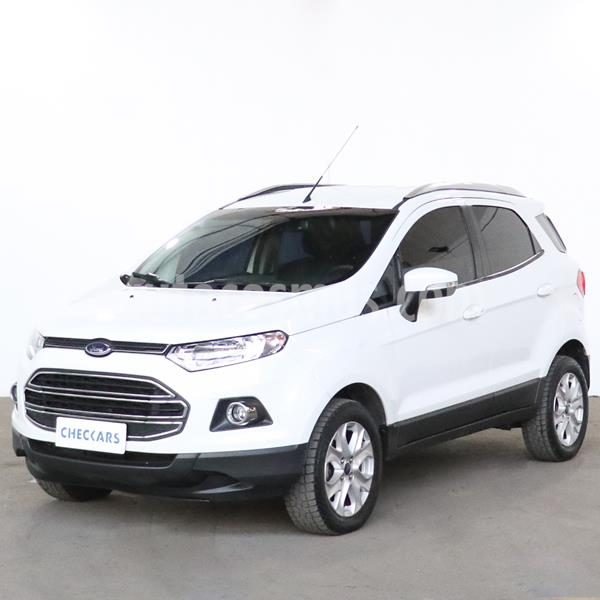 Ford EcoSport 2.0L Titanium Powershift usado (2017) color Blanco Oxford precio $1.377.500