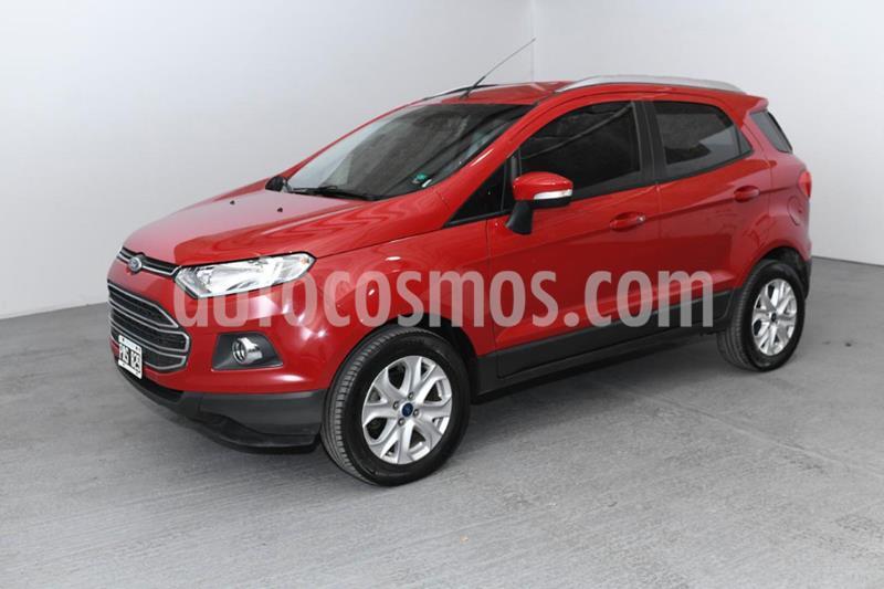 Ford EcoSport 1.6L Titanium usado (2016) color Rojo precio $1.280.000