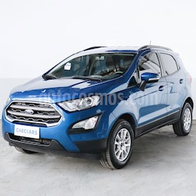 Ford EcoSport SE 1.5L usado (2019) color Azul Electrico precio $1.340.000
