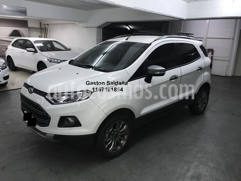 Ford EcoSport 1.6L 4x2 Freestyle  usado (2015) color Blanco precio $770.000