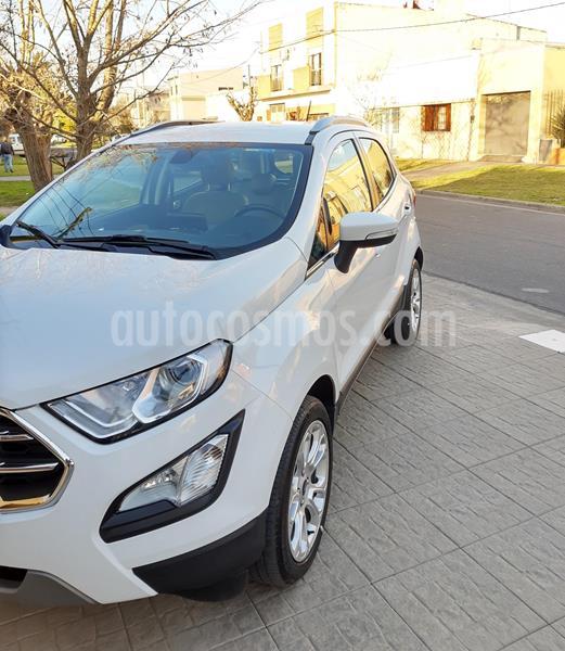 Ford EcoSport Titanium 1.5L Aut usado (2018) color Blanco precio $1.600.000