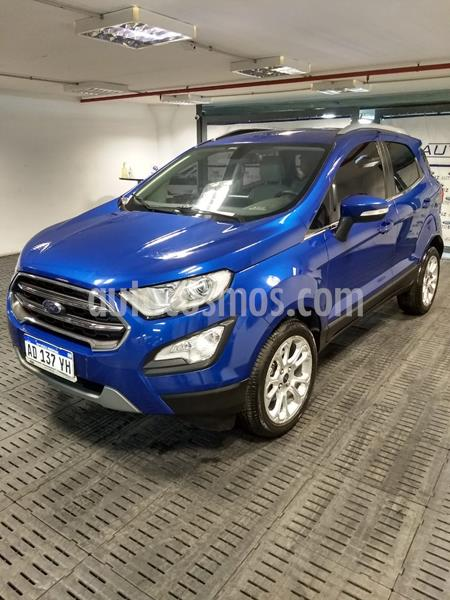 Ford EcoSport Titanium 1.5L Dragon usado (2018) color Azul Electrico precio $1.580.000