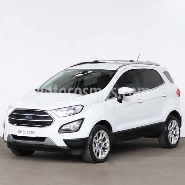 Ford EcoSport Titanium 1.5L Aut usado (2018) color Blanco Oxford precio $1.528.980
