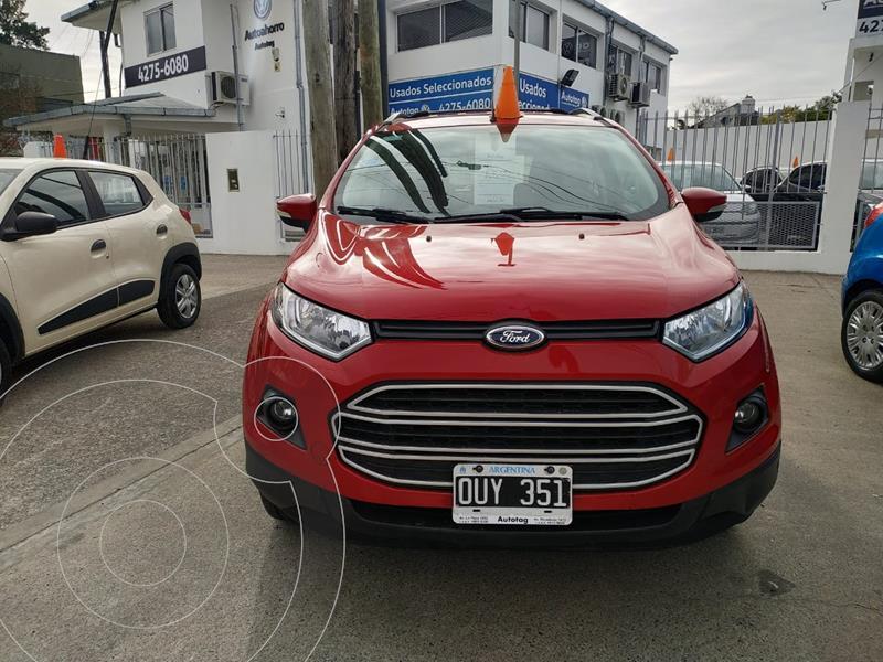 Foto Ford EcoSport 1.6L SE usado (2015) color Rojo precio $1.410.000