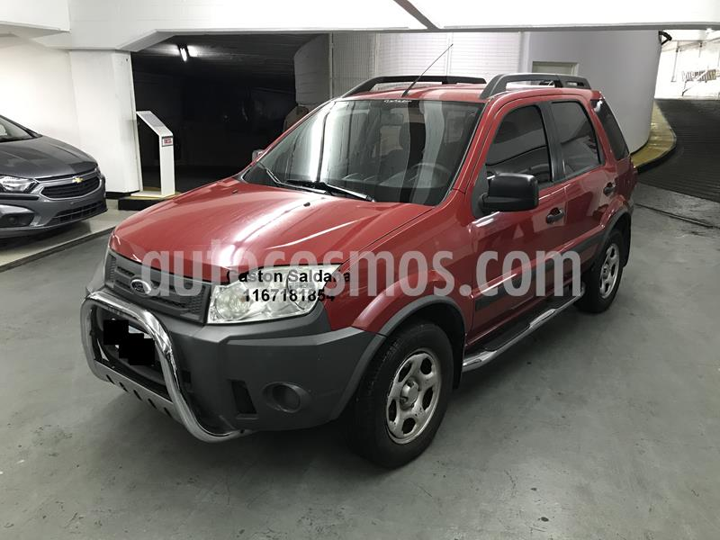 Ford EcoSport 1.6L 4x2 XL Plus  usado (2010) color Rojo Bari precio $460.000