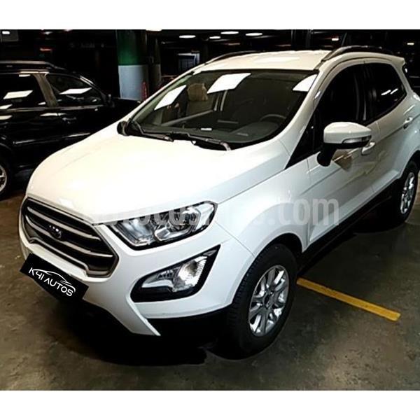 Ford EcoSport SE 1.5L Aut usado (2019) color Blanco precio $1.390.000