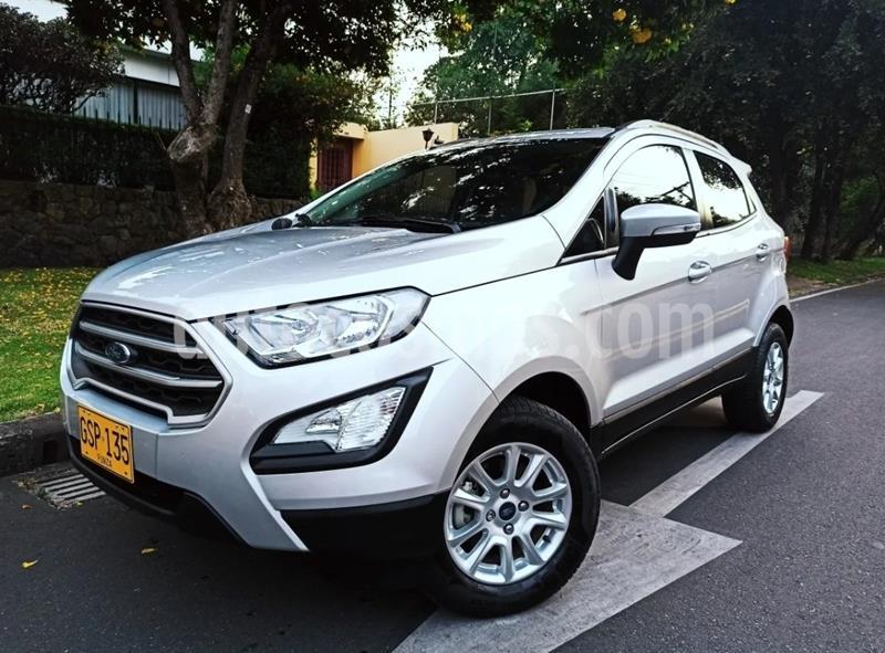 Ford Ecosport 2.0L SE  usado (2020) color Plata Puro precio $56.900.000
