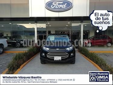 Foto venta Auto Seminuevo Ford Ecosport EcoSport 4x2 AT (2014) color Negro precio $147,000