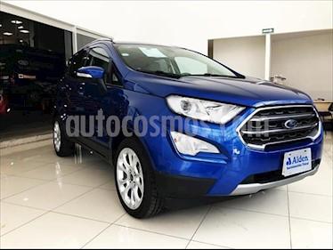 Ford Ecosport Titanium Aut usado (2018) color Azul Electrico precio $298,000