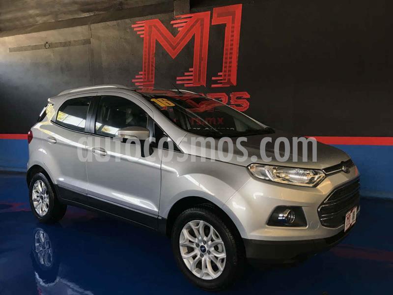 Ford Ecosport Titanium Aut usado (2016) color Plata precio $207,000