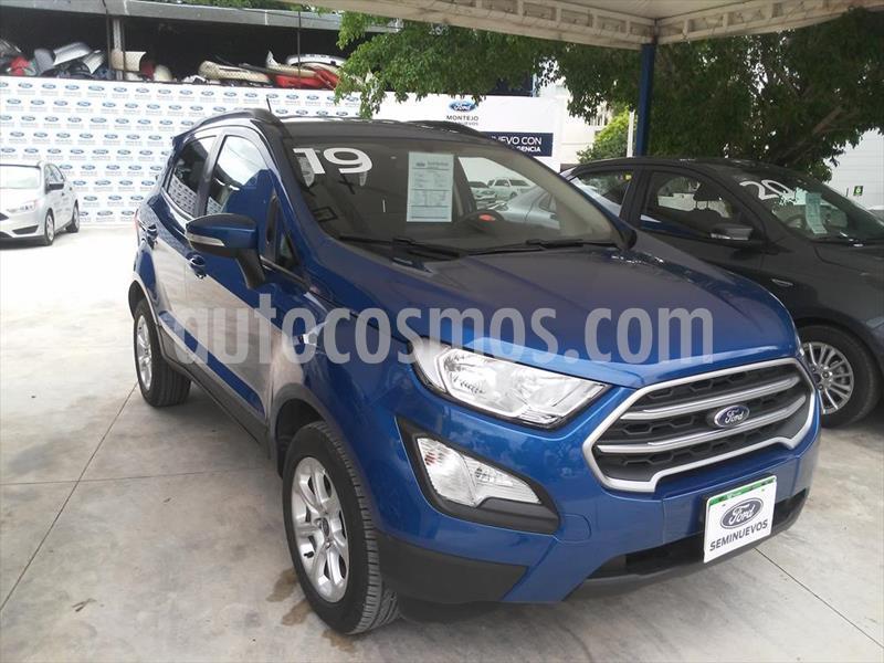 Ford Ecosport Trend Aut usado (2019) color Azul Electrico precio $280,000