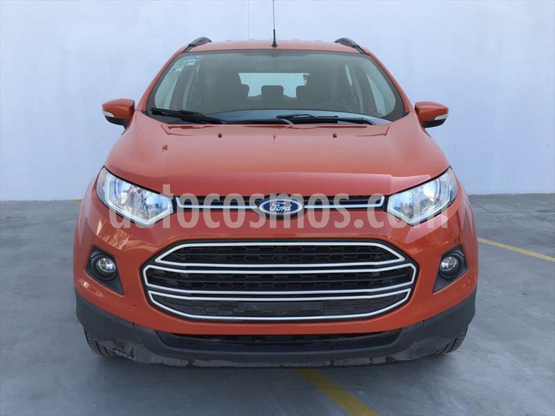 Ford Ecosport TREND MT usado (2016) color Naranja precio $200,000