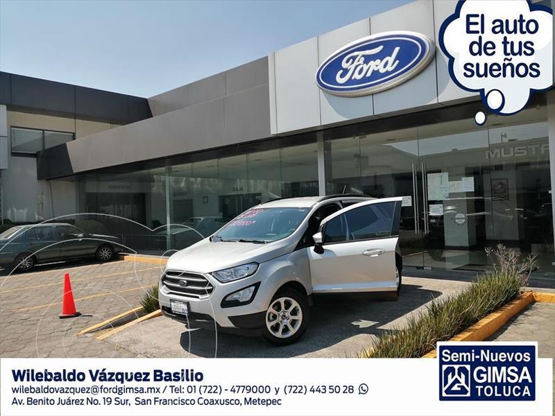 Foto Ford Ecosport TREND TM 2.0L usado (2018) color Plata precio $229,000