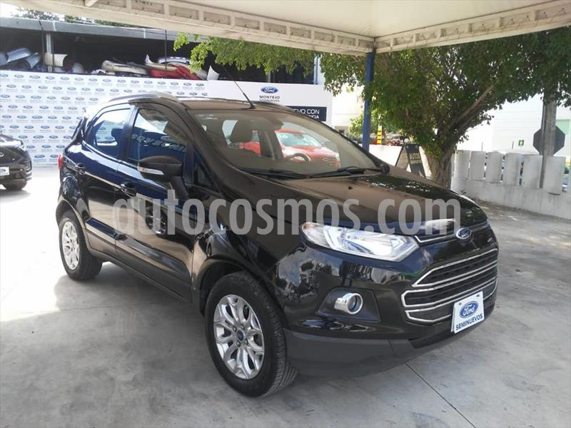 Ford Ecosport Titanium Aut usado (2014) color Negro precio $170,000
