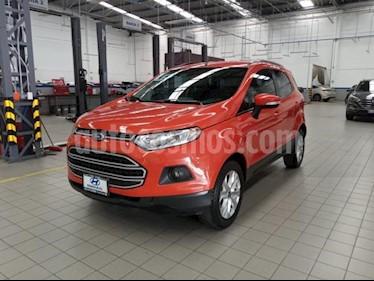 Ford Ecosport 5P TREND AT A/AC. RA-16 usado (2015) color Naranja precio $195,000