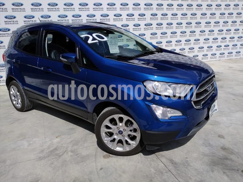 Ford Ecosport Titanium Aut usado (2019) color Azul Electrico precio $386,100